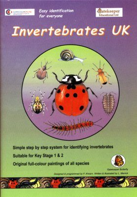 Invertebrates UK CD-ROM