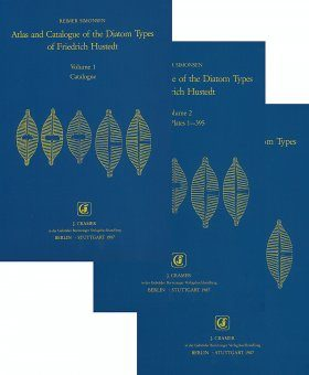 Atlas and Catalogue of the Diatom Types of Friedrich Hustedt (3-Volume Set)