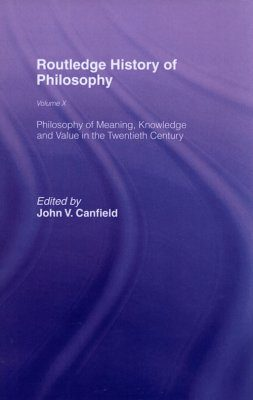 Routledge History of Philosophy Volume X