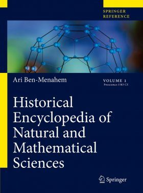 Historical Encyclopedia of Natural and Mathematical Sciences (5-Volume Set)