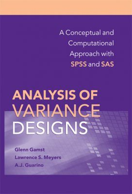 Analysis of Variance Designs