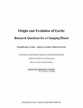 Origin and Evolution of Earth