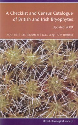 A Checklist and Census Catalogue of British and Irish Bryophytes