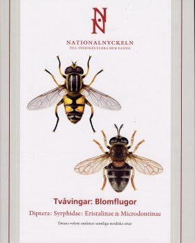 The Encyclopedia of the Swedish Flora and Fauna, Tvåvingar: Blomflugor [Swedish]
