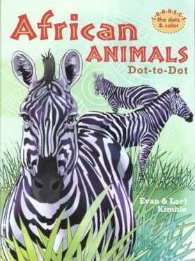 African Animals Dot-to-Dot