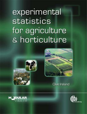 Statistics for Agriculture and Horticulture