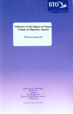 Indicators of the Impact of Climate Change on Migratory Species