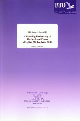 A Breeding Bird Survey of the National Forest (English Midlands) in 2008