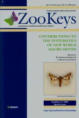 ZooKeys 9: Contributions to the Systematics of New World Macro-Moths
