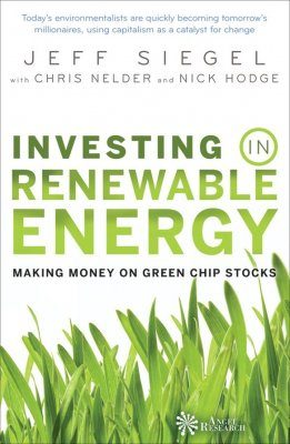 Investing in Renewable Energy: Making Money on Green Chip Stocks