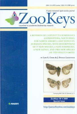 ZooKeys 30: A Revision of Lasionycta Aurivillius (Lepidoptera, Noctuidae) for North America and Notes on Eurasian Species, with Descriptions of 17 New Species, 6 New Subspecies, A New Genus, and Two New Species of Tricholita Grote