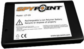 Spypoint Rechargeable Lithium Battery