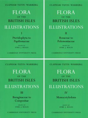 Flora of the British Isles (4-Volume Set)