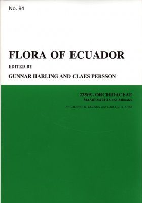 Flora of Ecuador, Volume 84, Part 225 (9): Orchidaceae (Masdevallia and Affiliates)