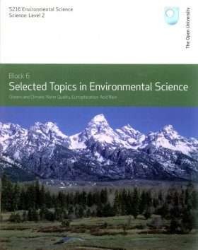 Selected Topics in Environmental Science, Topics 5-8