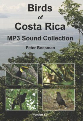 Birds of Costa Rica - MP3 Sound Collection