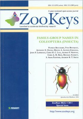 ZooKeys 72: Advances in the Systematics of Diplopoda III