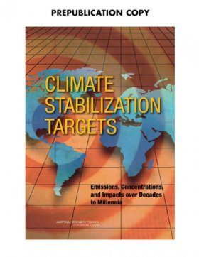 Climate Stabilization Targets