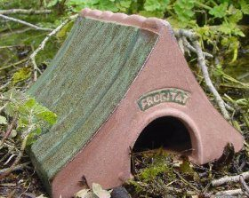 Frogitat Ceramic Frog and Toad House