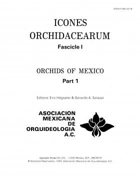 Icones Orchidacearum, Fascicle 1