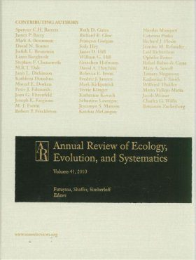 Annual Review of Ecology, Evolution, and Systematics, Volume 41