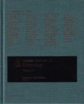 Annual Review of Entomology, Volume 56