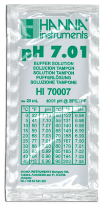 pH 7.01 Buffer Solution - 20ml sachets
