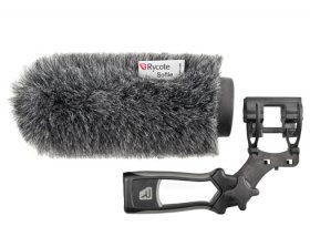 Rycote Softie Windshield & Pistol Grip Mount: ME66/ EQ