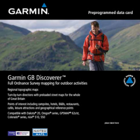 Garmin GB Discoverer OS 1:50K SD Card