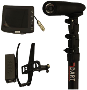 Telescopic Infra Red Search Camera