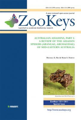 ZooKeys 123: Australian Assassins, Part I: A Review of the Assassin Spiders (Araneae, Archaeidae) of mid-eastern Australia