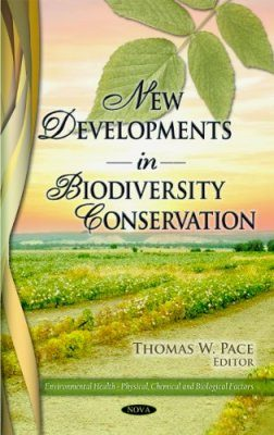 New Developments in Biodiversity Conservation