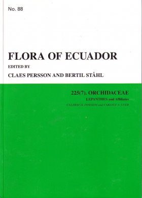 Flora of Ecuador, Volume 88, Part 225 (7): Orchidaceae (Lepanthes and Affiliates)