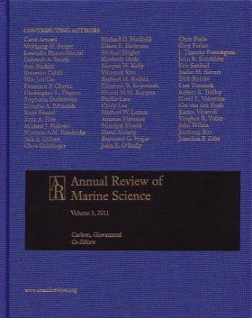 Annual Review of Marine Science, Volume 3