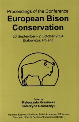 Proceedings of the Conference European Bison Conservation