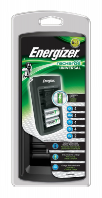 Duracell Rechargeable Multi Battery Charger