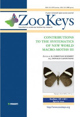 ZooKeys 149: Contributions to the Systematics of New World macro-moths III