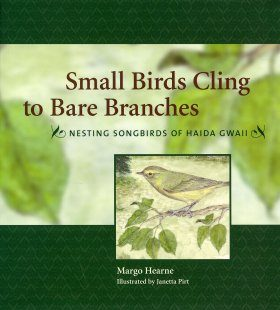 Small Birds Cling to Bare Branches