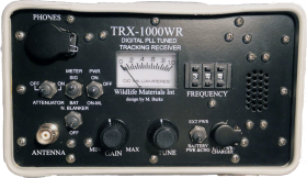 TRX-1000S WR Water Resistant Telemetry Receiver: 173 MHz