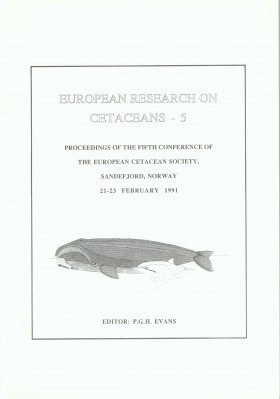 European Research on Cetaceans Volume 5