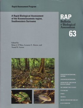A Rapid Biological Assessment of the Kwamalasamutu region, Southwestern Suriname