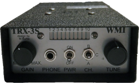 TRX-3S Telemetry Receiver 173 MHz