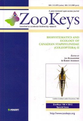 ZooKeys 186: Biosystematics and Ecology of Canadian Staphylinidae (Coleoptera) II