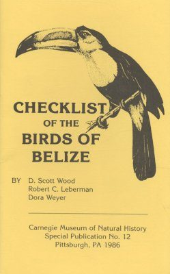 A Checklist of the Birds of Belize