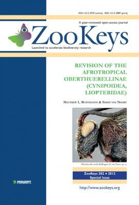 ZooKeys 202: Revision of the Afrotropical Oberthuerellinae (Cynipoidea, Liopteridae)