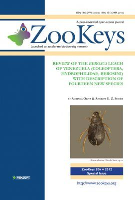 ZooKeys 206: Review of the Berosus Leach of Venezuela (Coleoptera, Hydrophilidae, Berosini) with description of fourteen new species