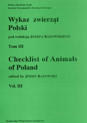Checklist of Animals of Poland, Volume 3: Insecta: Coleoptera, Strepsiptera