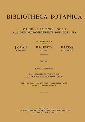 Monograph of the Genus Aponogeton (Aponogetonaceae)