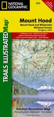 Oregon: Map for Mount Hood, Mount Hood & Willamette National Forests