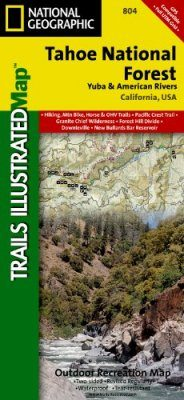 California: Map for Tahoe National Forest, Yuba & American Rivers